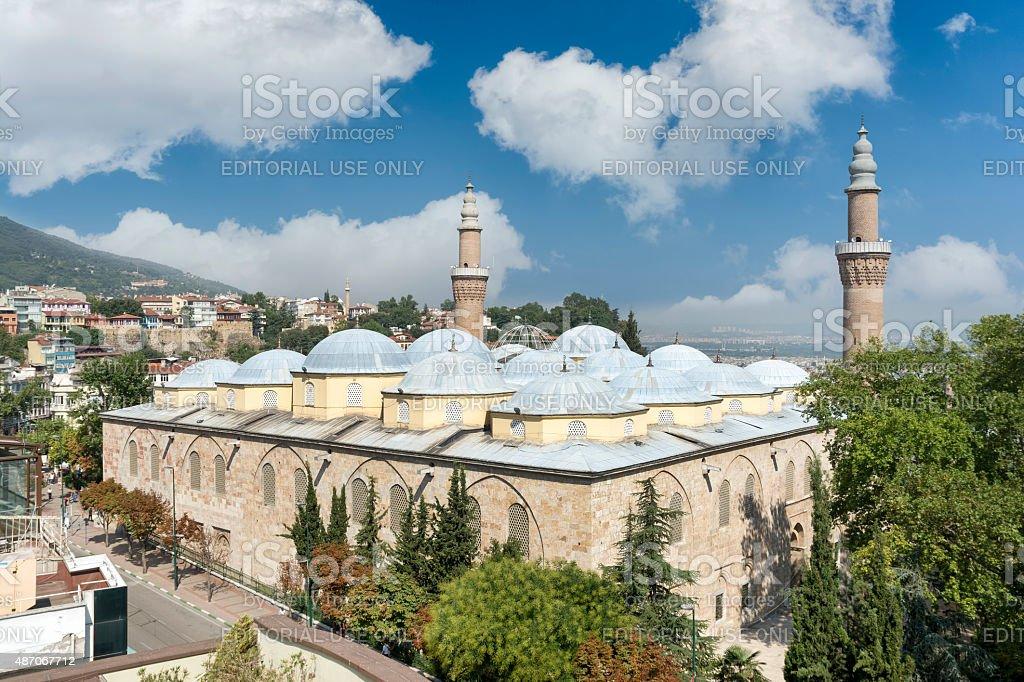 Ulu Cami (Grand Mosque of Bursa), Turkey stock photo