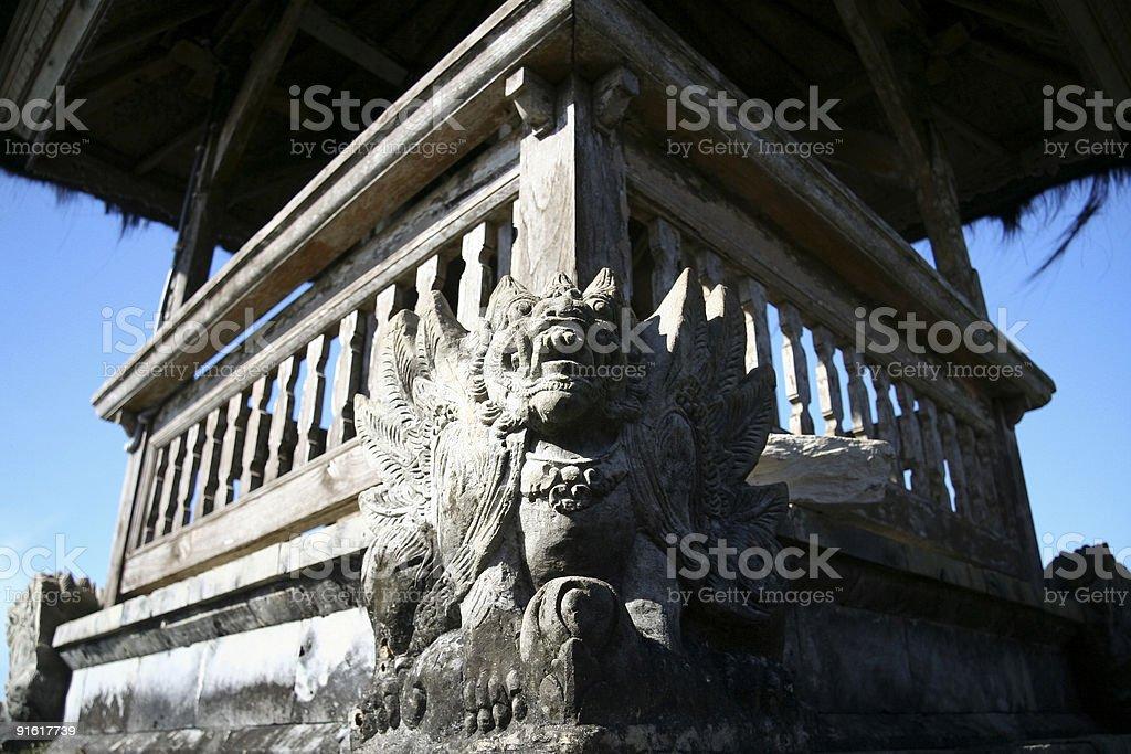 ulu watu temple bali royalty-free stock photo