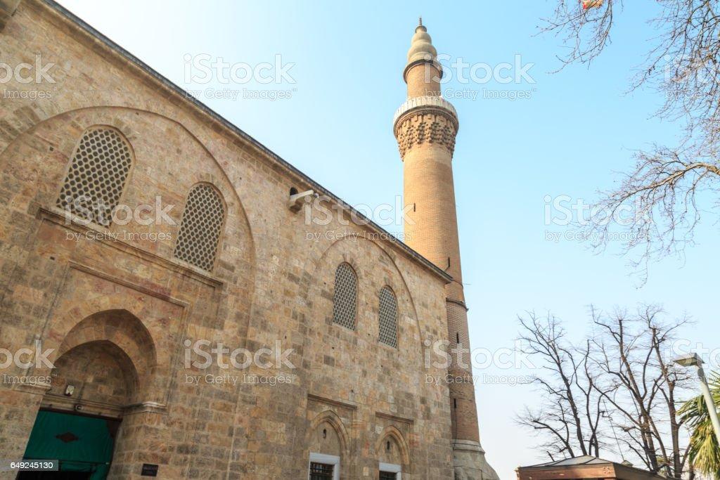 Ulucami in Bursa, Turkey stock photo