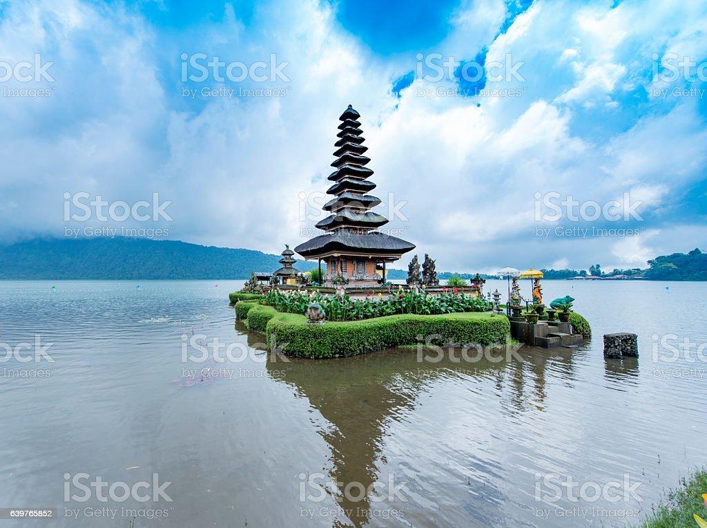 Ulun Danu Beratan Temple, Bali stock photo