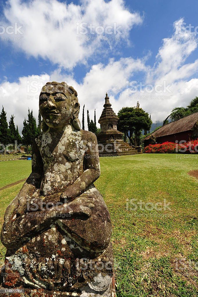 Pura Ulun Danu Bratan, Bali royalty-free stock photo