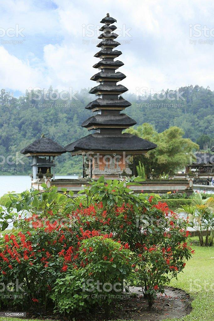 Ulun Danu Water Temple, Bali royalty-free stock photo