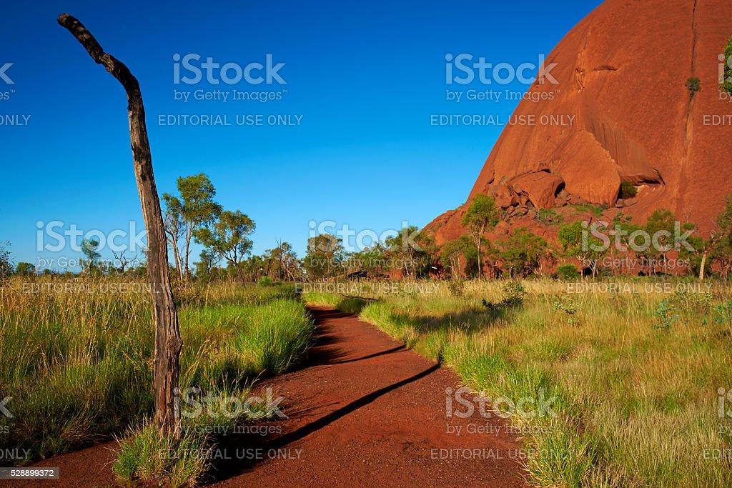 Uluru Scenic stock photo