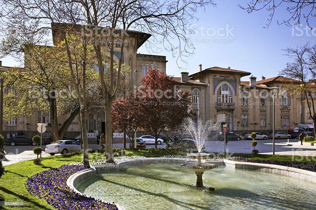 Ulus district in Ankara. Turkey stock photo