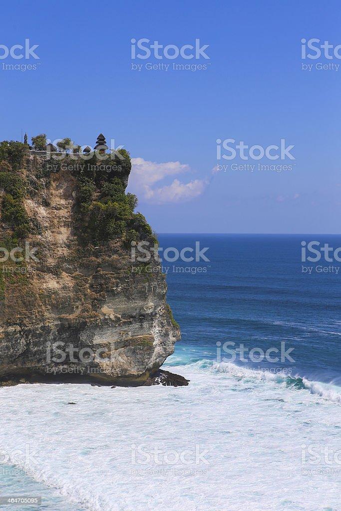 Uluwatu Temple, Bali stock photo