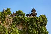 Uluwatu temple in Bali Indonesia