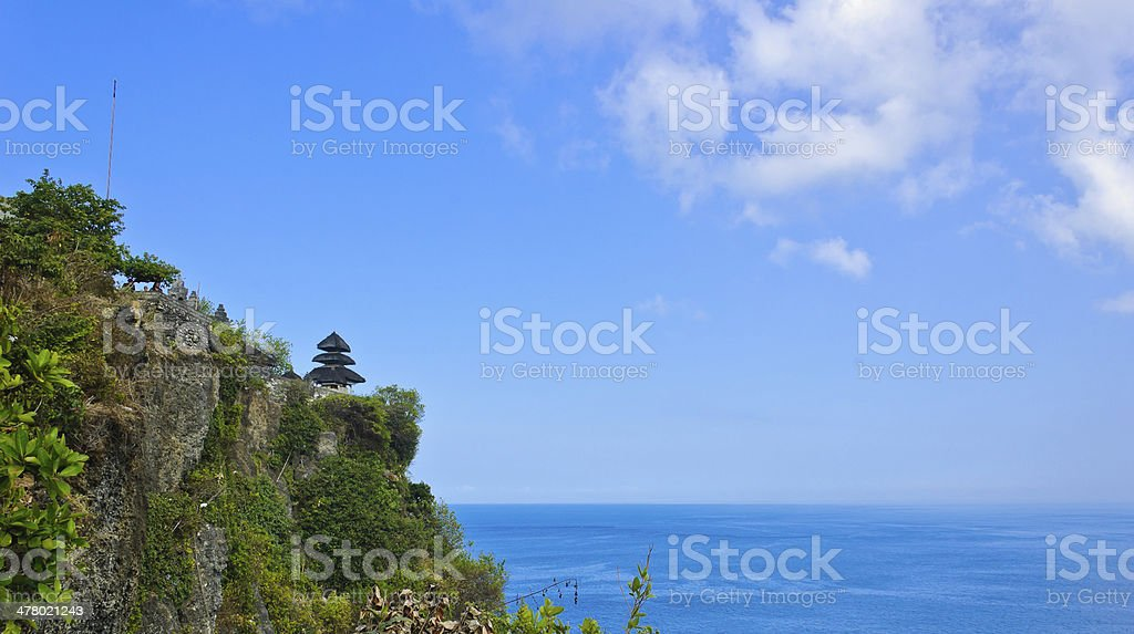 Uluwatu temple royalty-free stock photo