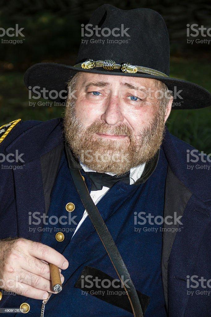 Ulysses S. Grant, Union General stock photo