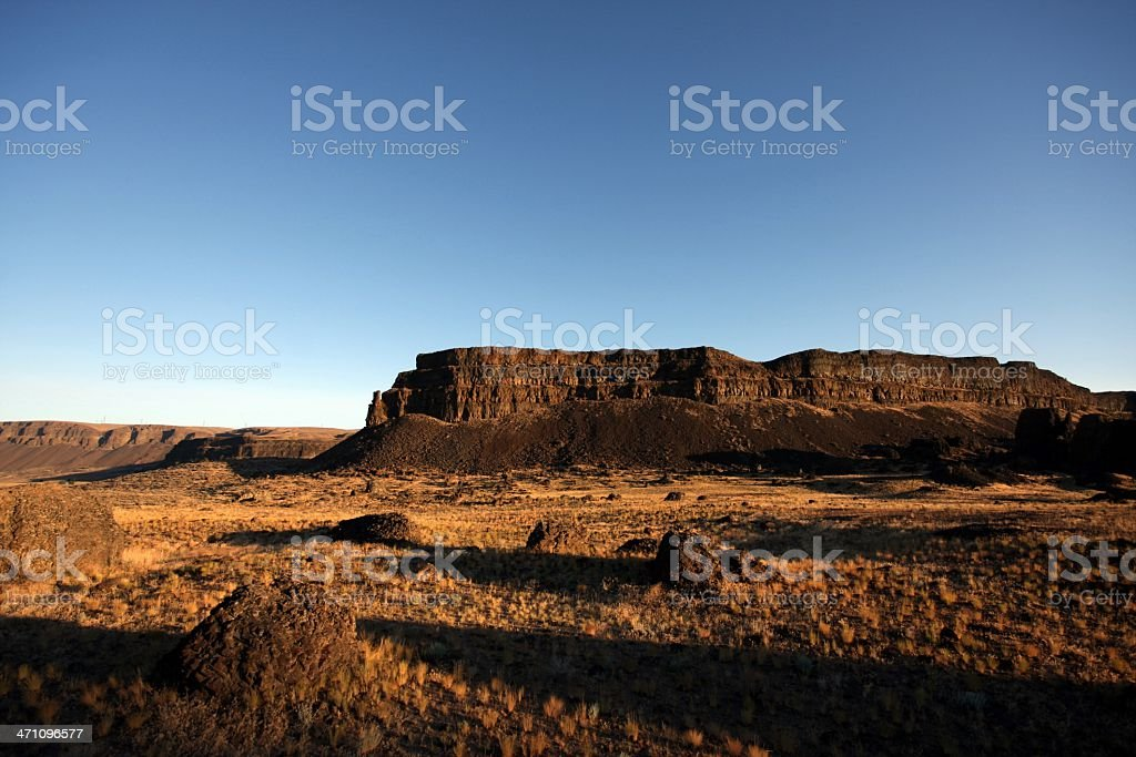 Umatilla Rock stock photo