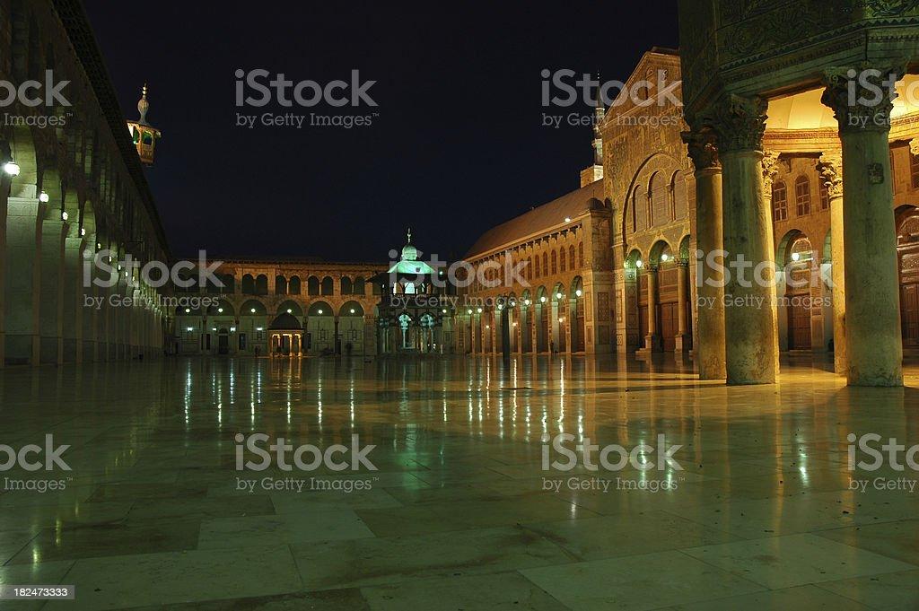 Umayyad Mosque royalty-free stock photo