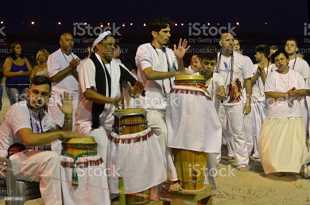 Umbanda Group stock photo