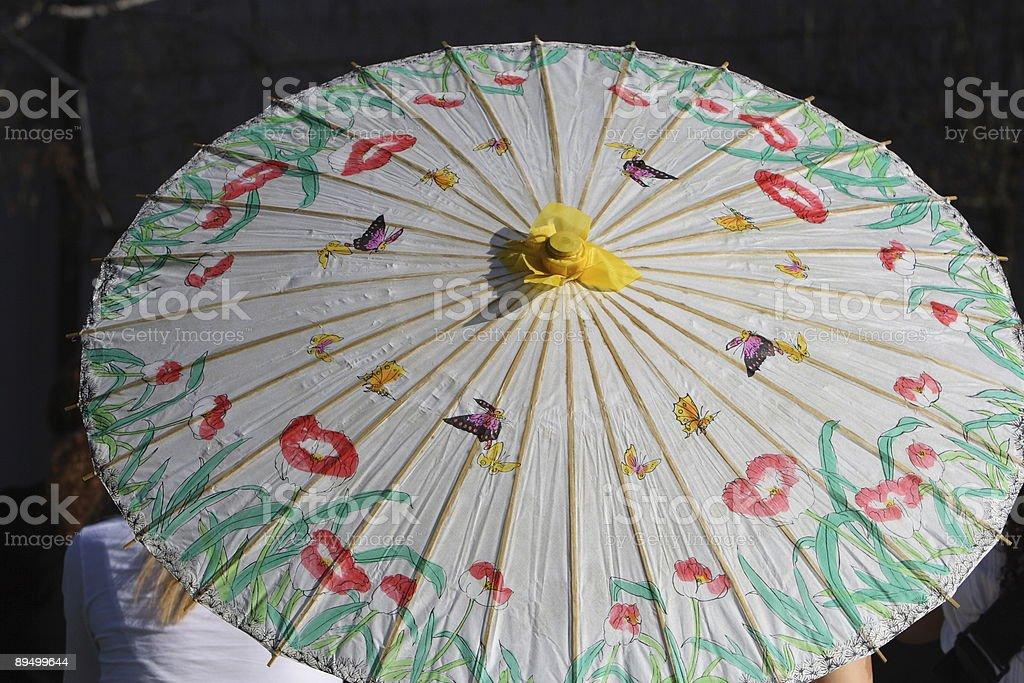 Umbrella Close-up stock photo