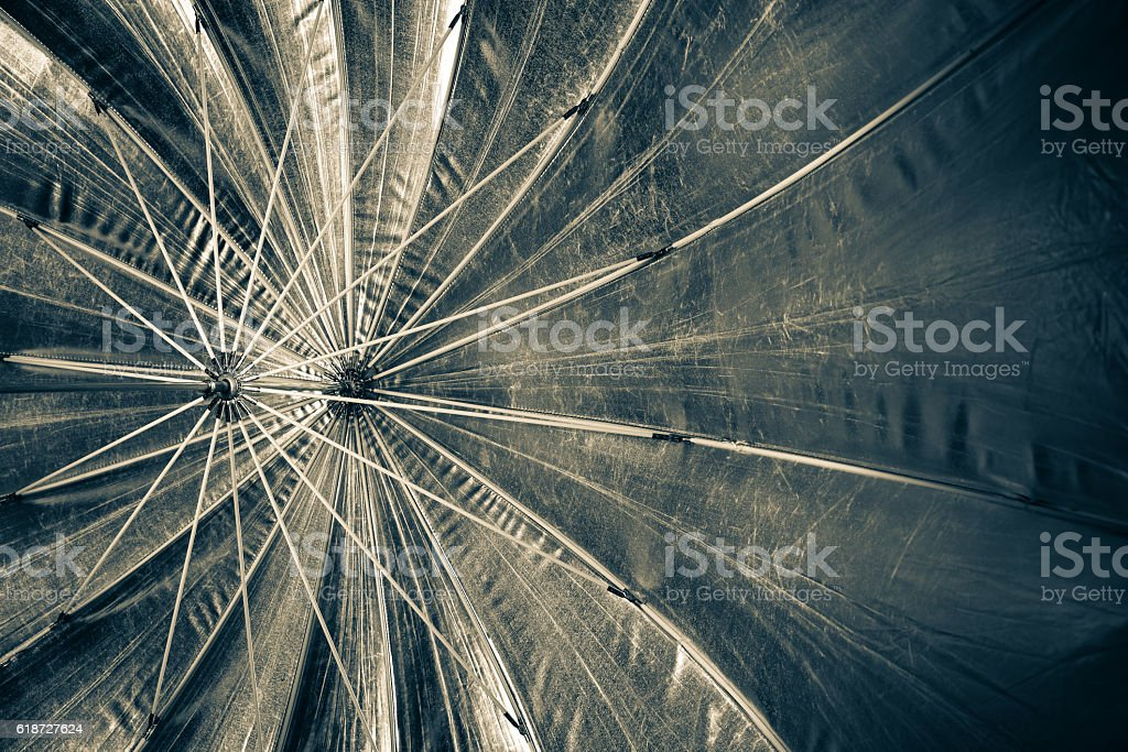 Umbrella inside stock photo