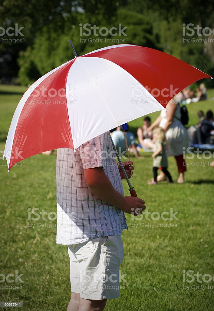 Umbrella stock photo