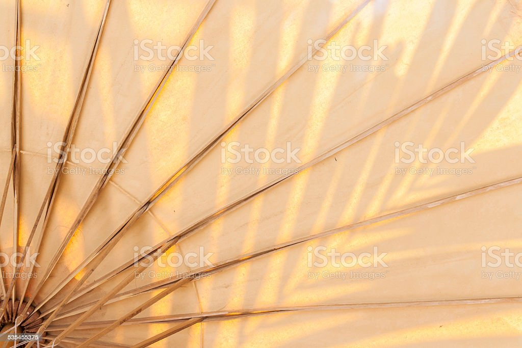 Umbrella structure pattern close up horizontal royalty-free stock photo