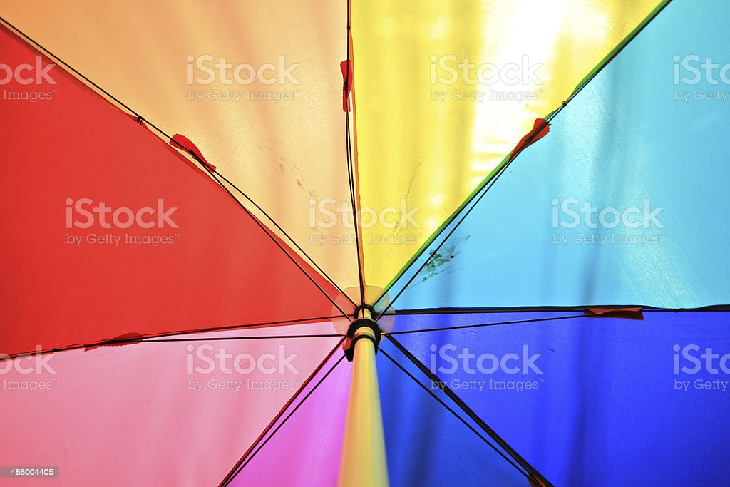 umbrellas coloring background royalty-free stock photo