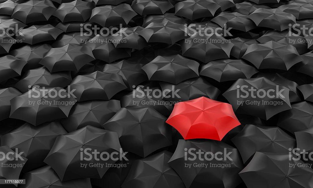 Umbrellas royalty-free stock photo