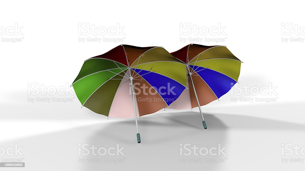 Umbrellas royalty-free stock photo