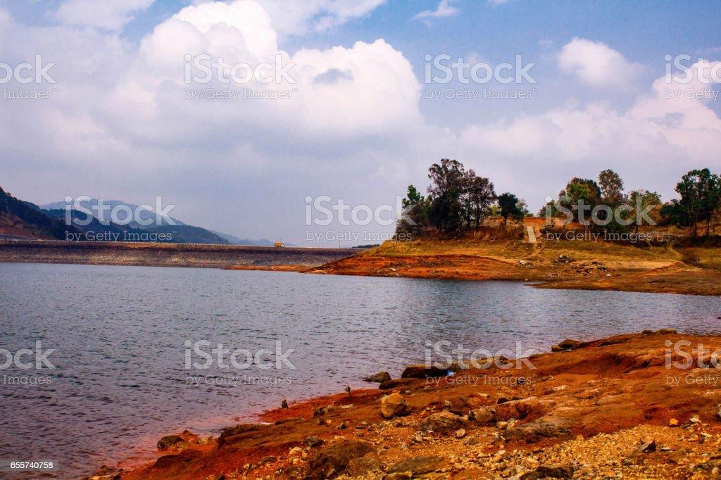 Umiam Lake, Shillong, East Khasi hills, Meghalaya stock photo
