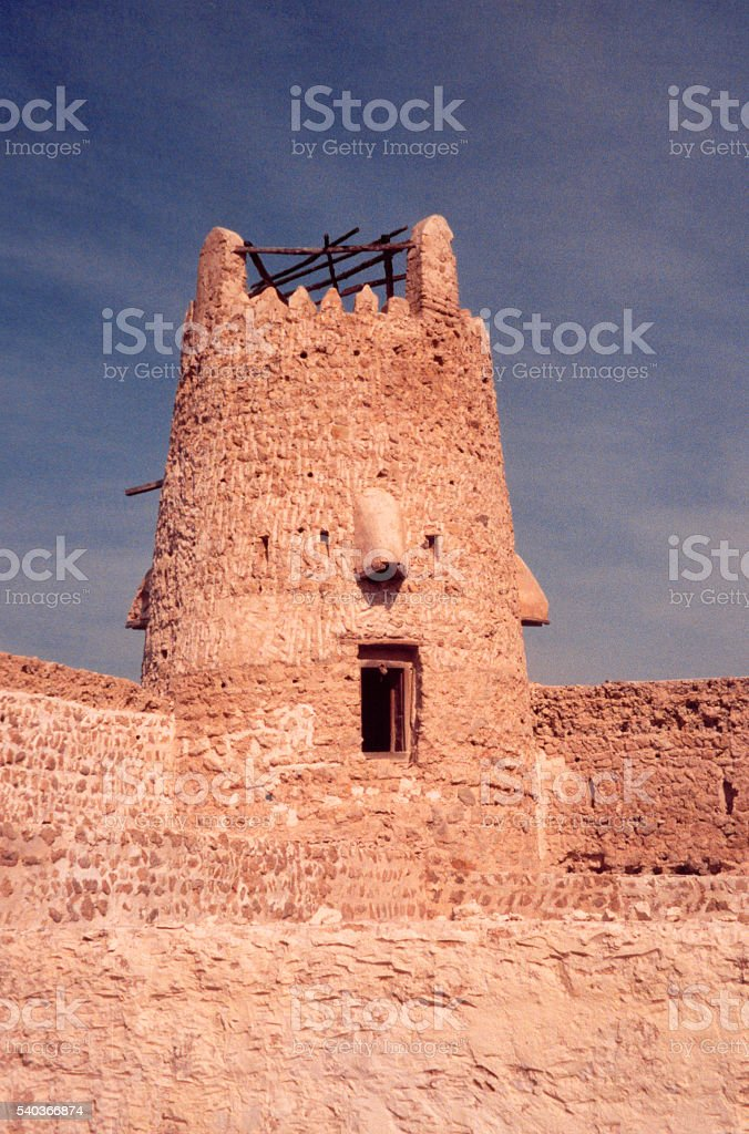 Umm al-Quwain fort, UAE stock photo