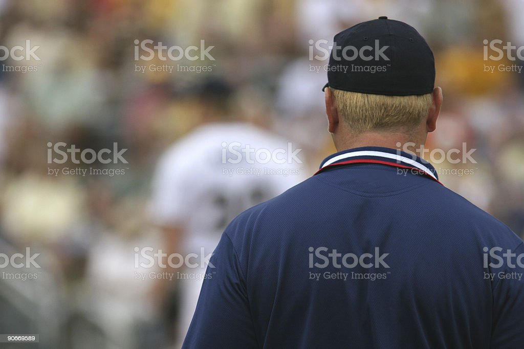 Umpire stock photo