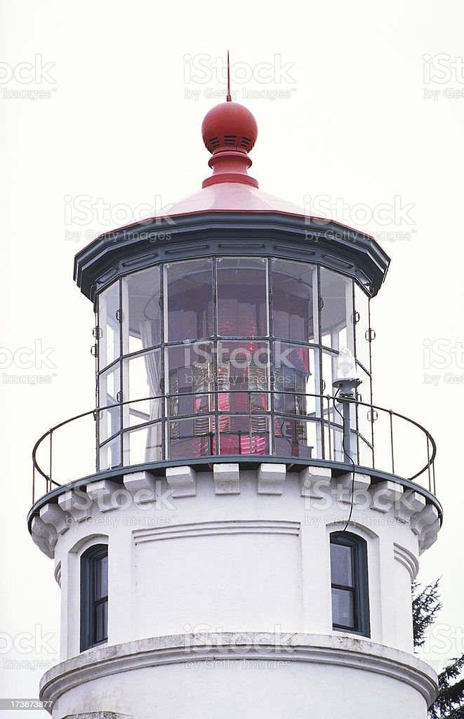 Umpqua River Lighthouse stock photo