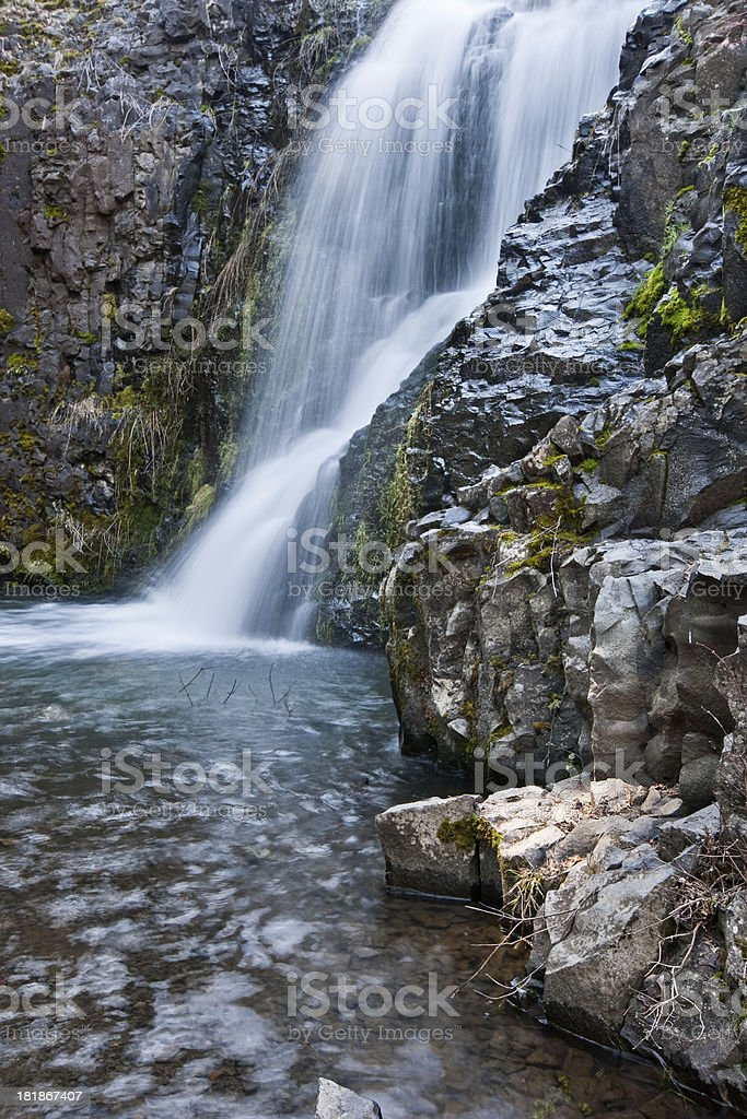 Umtanum Falls royalty-free stock photo