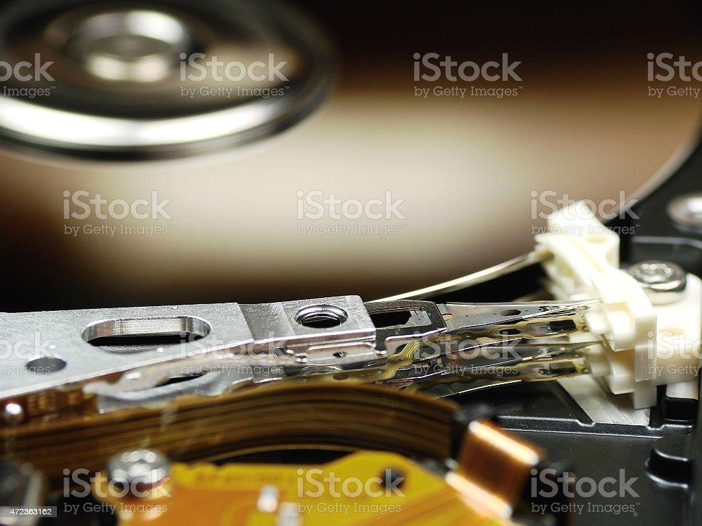 HDD un altro angolo stock photo