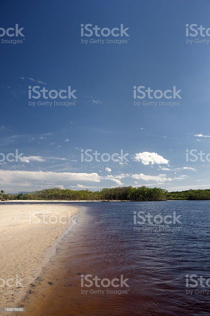 Una River royalty-free stock photo