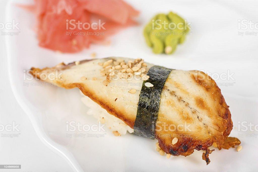 unagi sushi royalty-free stock photo