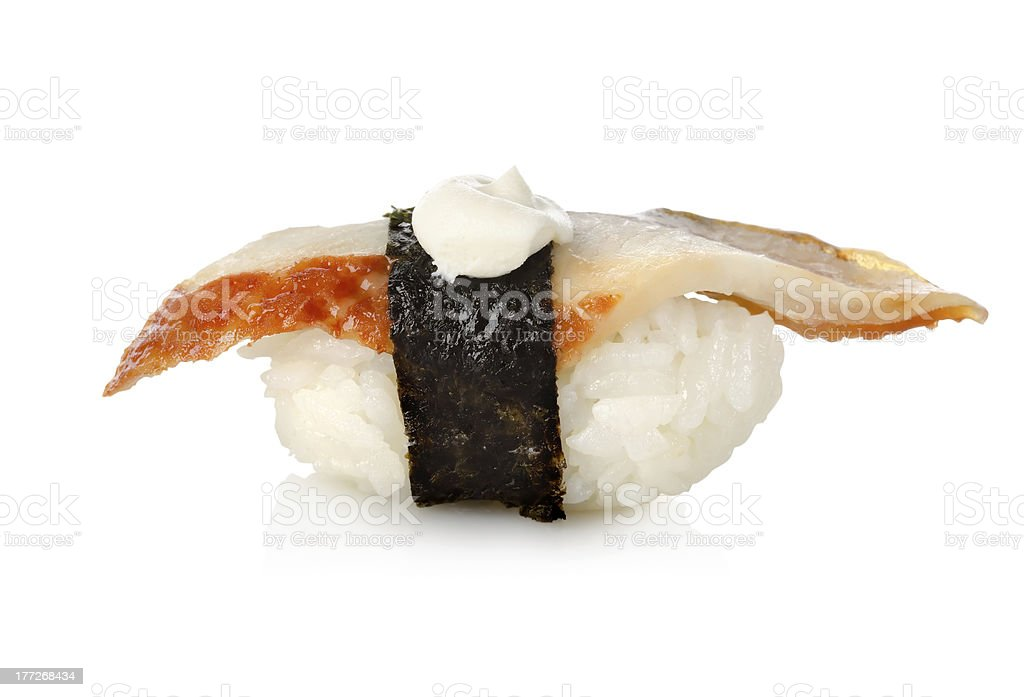 Unagi sushi royalty-free stock photo