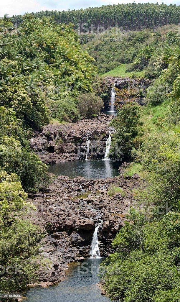 Unauma Falls stock photo