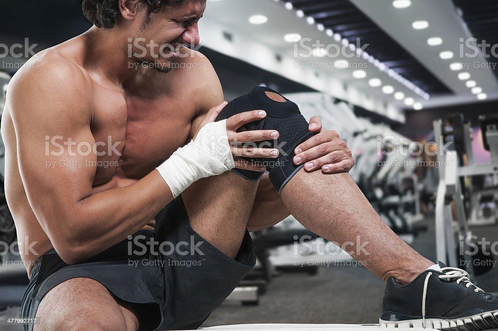 Unbearable pain stock photo
