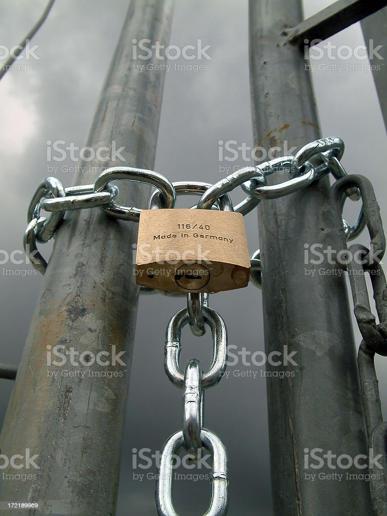 uncertain future royalty-free stock photo