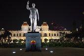 Uncle Ho Waving, Ho Chi Minh City