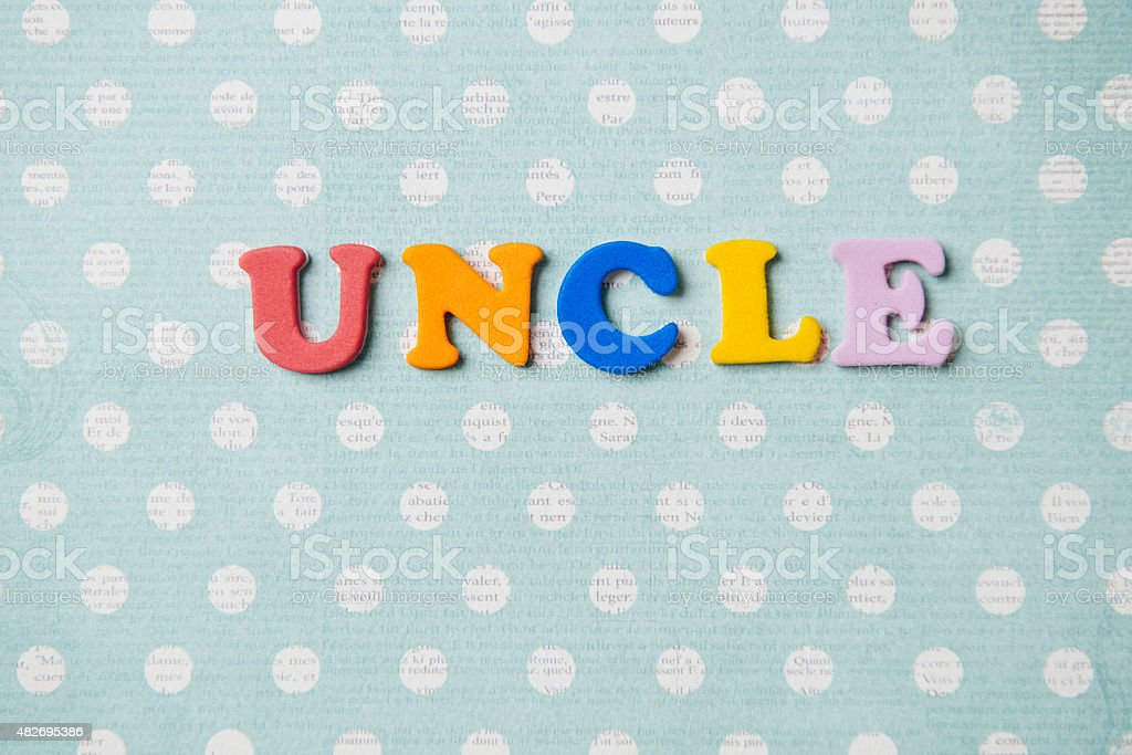 Uncle stock photo