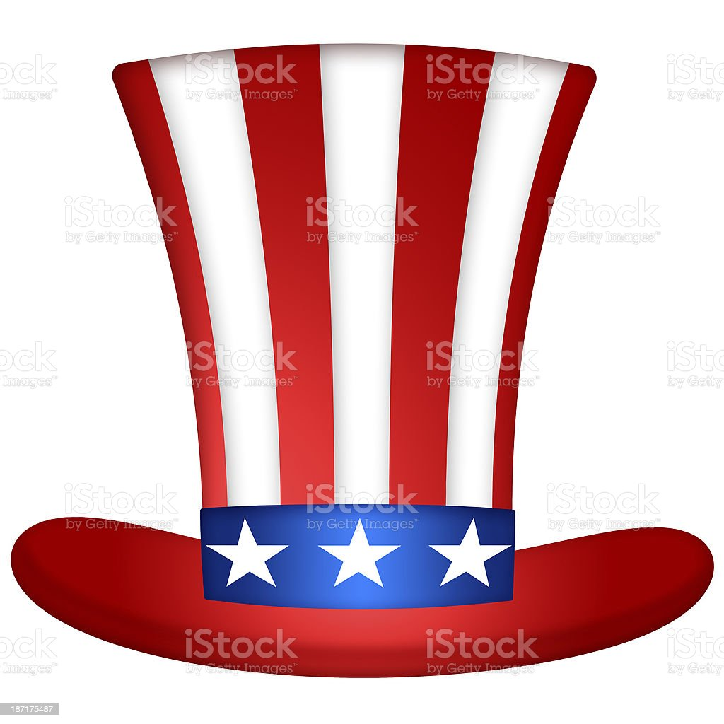 Uncle Sam Hat royalty-free stock photo