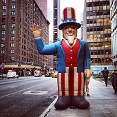 Uncle Sam on 3rd Avenue, New York, USA