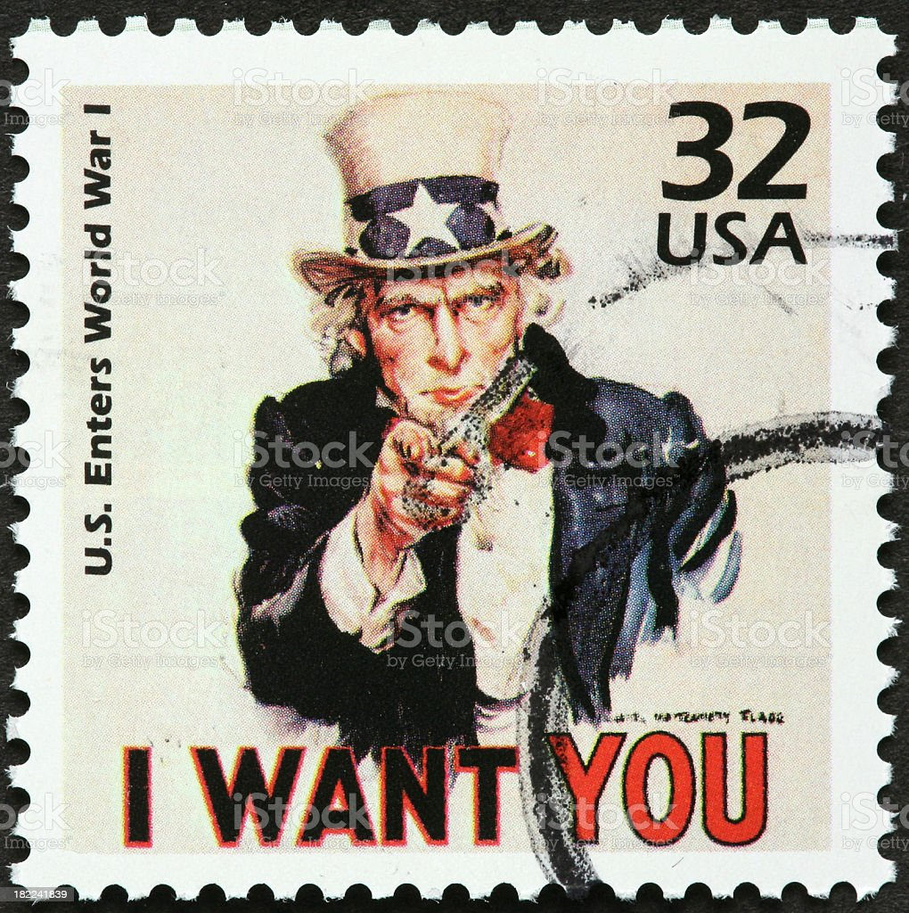 Uncle Sam stock photo
