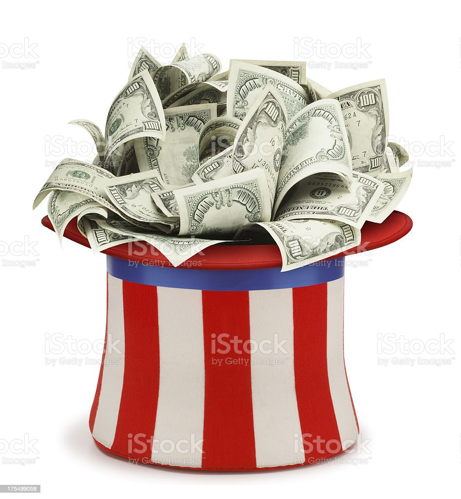 Uncle Sam's Hat stock photo