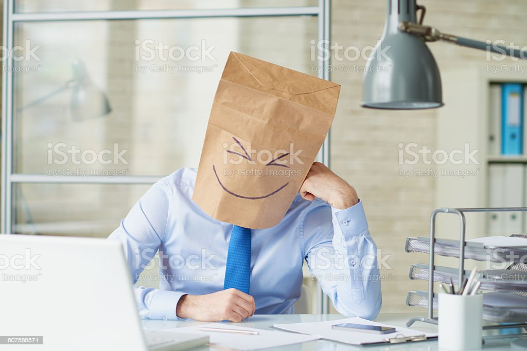 Uncommon business stock photo