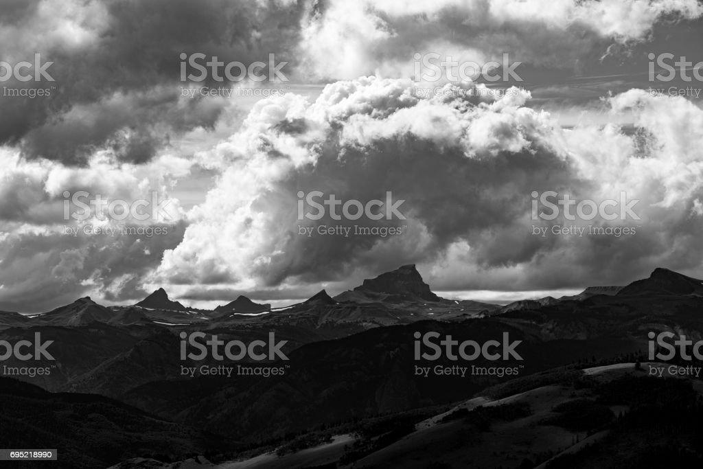Uncompaghre Peak, Colorado stock photo
