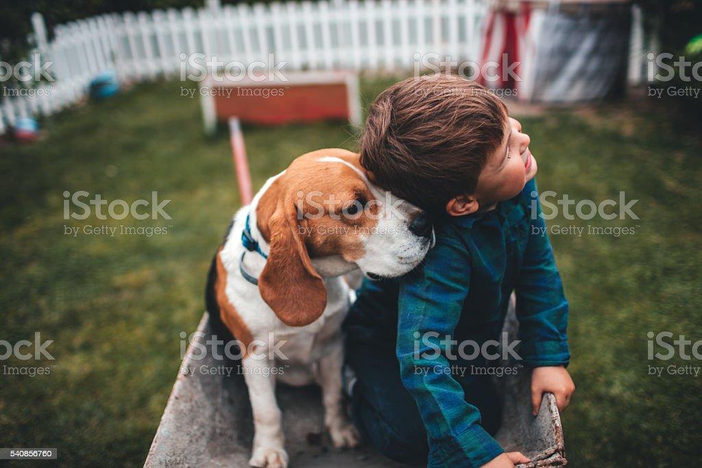 Unconditional love stock photo