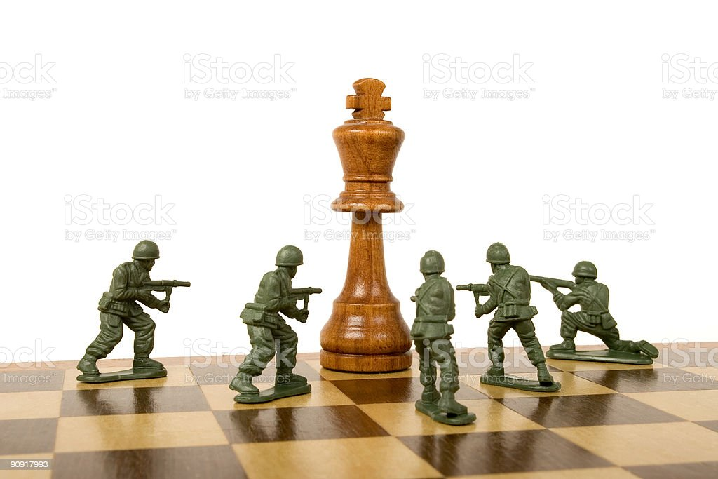 Unconditional Surrender royalty-free stock photo