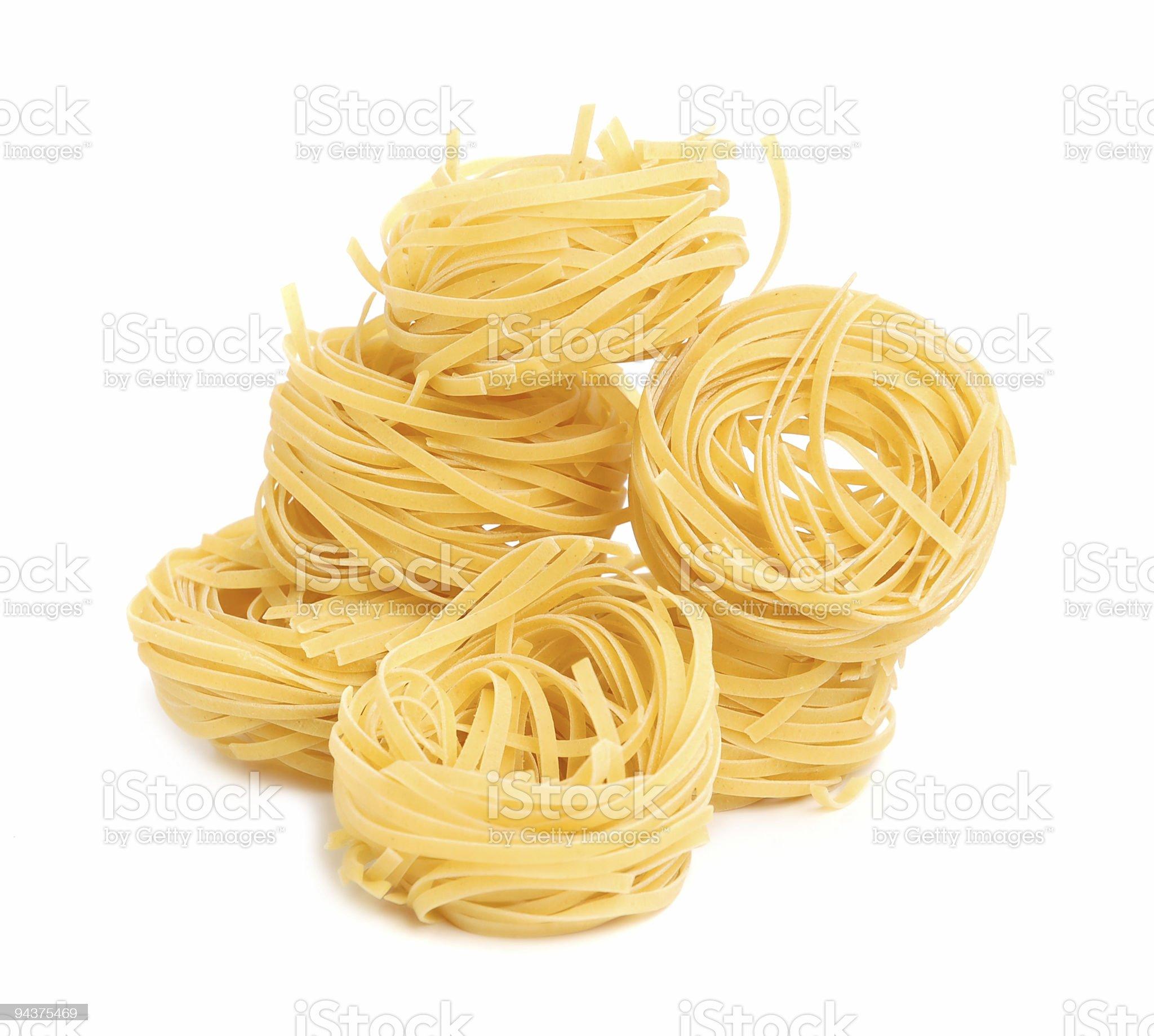Uncooked macaroni royalty-free stock photo