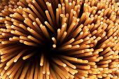 Uncooked Multi-grain Spaghetti