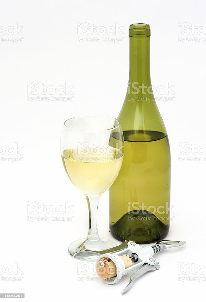 Uncorked stock photo