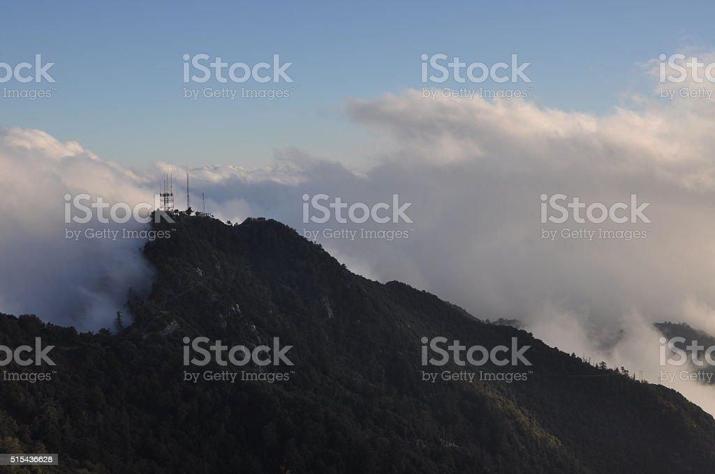 Uncovering the Mountains stock photo
