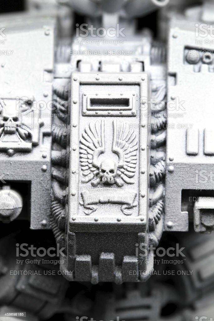 Undead Warrior stock photo