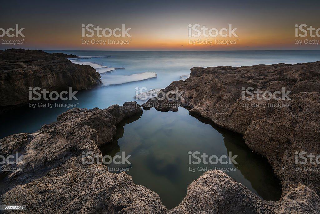Under and over the water... stock photo